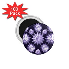 Stars Patterns Christmas Background Seamless 1 75  Magnets (100 Pack)