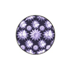 Stars Patterns Christmas Background Seamless Hat Clip Ball Marker (4 Pack)