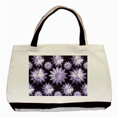 Stars Patterns Christmas Background Seamless Basic Tote Bag