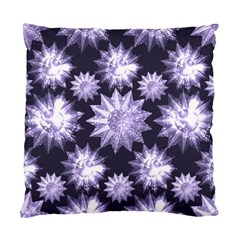 Stars Patterns Christmas Background Seamless Standard Cushion Case (two Sides)