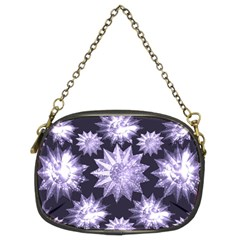 Stars Patterns Christmas Background Seamless Chain Purses (Two Sides)