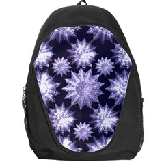 Stars Patterns Christmas Background Seamless Backpack Bag
