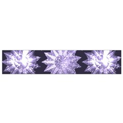 Stars Patterns Christmas Background Seamless Flano Scarf (Small)