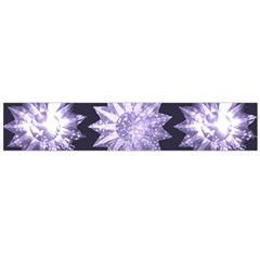 Stars Patterns Christmas Background Seamless Flano Scarf (Large)