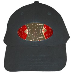 Star Wood Star Illuminated Black Cap