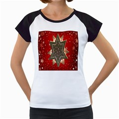 Star Wood Star Illuminated Women s Cap Sleeve T