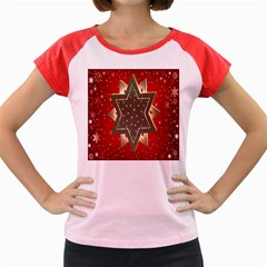 Star Wood Star Illuminated Women s Cap Sleeve T-Shirt
