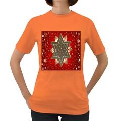 Star Wood Star Illuminated Women s Dark T-Shirt