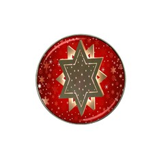 Star Wood Star Illuminated Hat Clip Ball Marker (4 pack)
