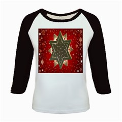 Star Wood Star Illuminated Kids Baseball Jerseys