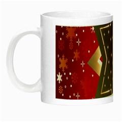 Star Wood Star Illuminated Night Luminous Mugs