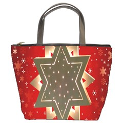 Star Wood Star Illuminated Bucket Bags