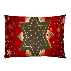 Star Wood Star Illuminated Pillow Case