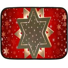 Star Wood Star Illuminated Double Sided Fleece Blanket (mini)