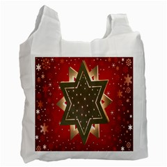 Star Wood Star Illuminated Recycle Bag (One Side)