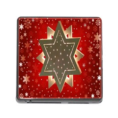 Star Wood Star Illuminated Memory Card Reader (Square)