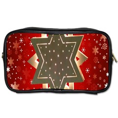 Star Wood Star Illuminated Toiletries Bags 2-Side