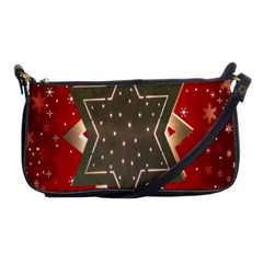 Star Wood Star Illuminated Shoulder Clutch Bags