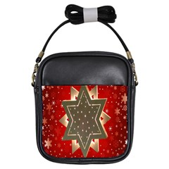 Star Wood Star Illuminated Girls Sling Bags