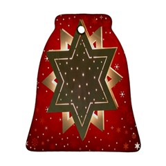 Star Wood Star Illuminated Ornament (bell)