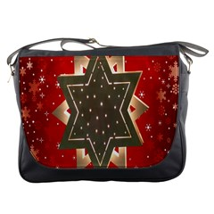 Star Wood Star Illuminated Messenger Bags