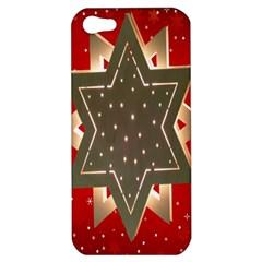 Star Wood Star Illuminated Apple Iphone 5 Hardshell Case