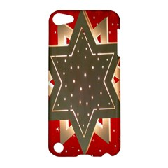 Star Wood Star Illuminated Apple Ipod Touch 5 Hardshell Case