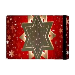 Star Wood Star Illuminated Apple Ipad Mini Flip Case