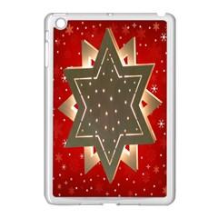 Star Wood Star Illuminated Apple Ipad Mini Case (white)