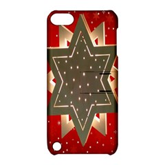 Star Wood Star Illuminated Apple Ipod Touch 5 Hardshell Case With Stand
