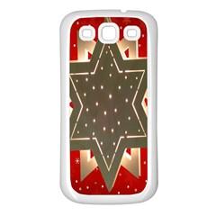 Star Wood Star Illuminated Samsung Galaxy S3 Back Case (white)