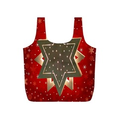 Star Wood Star Illuminated Full Print Recycle Bags (s)