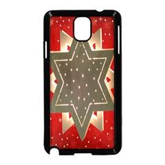 Star Wood Star Illuminated Samsung Galaxy Note 3 Neo Hardshell Case (black)