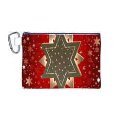 Star Wood Star Illuminated Canvas Cosmetic Bag (M)