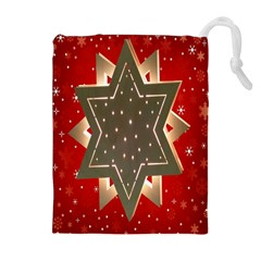 Star Wood Star Illuminated Drawstring Pouches (Extra Large)