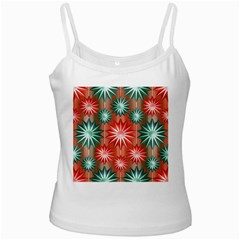 Stars Patterns Christmas Background Seamless Ladies Camisoles