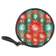Stars Patterns Christmas Background Seamless Classic 20-CD Wallets