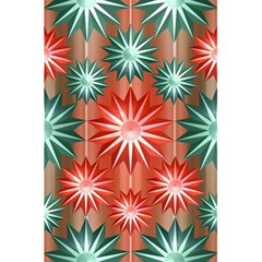 Stars Patterns Christmas Background Seamless 5.5  x 8.5  Notebooks