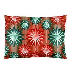 Stars Patterns Christmas Background Seamless Pillow Case (Two Sides)
