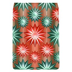 Stars Patterns Christmas Background Seamless Flap Covers (S)