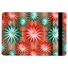 Stars Patterns Christmas Background Seamless iPad Air 2 Flip