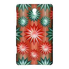 Stars Patterns Christmas Background Seamless Samsung Galaxy Tab S (8 4 ) Hardshell Case