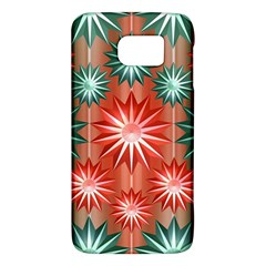 Stars Patterns Christmas Background Seamless Galaxy S6