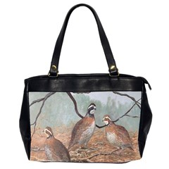 Bob White Quail Office Handbags (2 Sides)