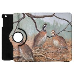Bob White Quail Apple iPad Mini Flip 360 Case