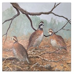 Bob White Quail Large Satin Scarf (Square)