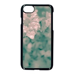 Surreal Floral Apple Iphone 7 Seamless Case (black)