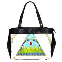Coat Of Arms Of Nicaragua Office Handbags (2 Sides)