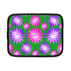 Stars Patterns Christmas Background Seamless Netbook Case (Small)