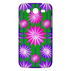 Stars Patterns Christmas Background Seamless Samsung Galaxy Mega 5 8 I9152 Hardshell Case